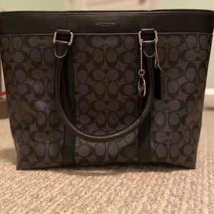 Authentic Coach Laptop Bag